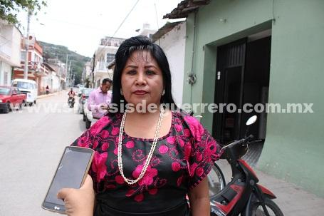 Una declaración involuntaria de nuestro dirigente del PRI de Guerrero, Dice candidata del distrito 06