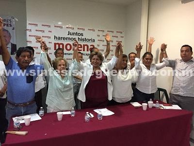 Ex regidores del PRD se unen a la campaña de Adela Román