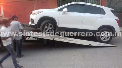 Nadie para el robo de vehículos en Chilpancingo y la carretera a Iguala