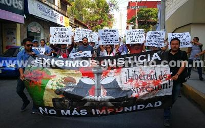 Periodistas de Guerrero demandan a candidatos, postura ante agresiones a la prensa