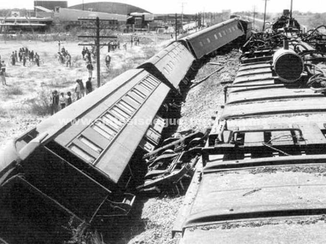 Toma 20 minutos descarrilar un tren; una empresa perdió 34.8 mdp por robos