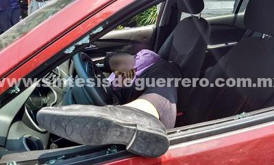 Frente a sus hijos, ejecutan a un empresario de Chilpancingo