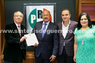 Realiza René Juárez nuevos nombramientos en el PRI