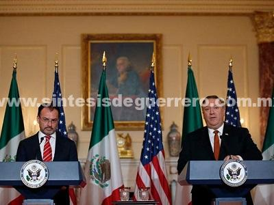 México y EU suscriben acuerdo nuclear