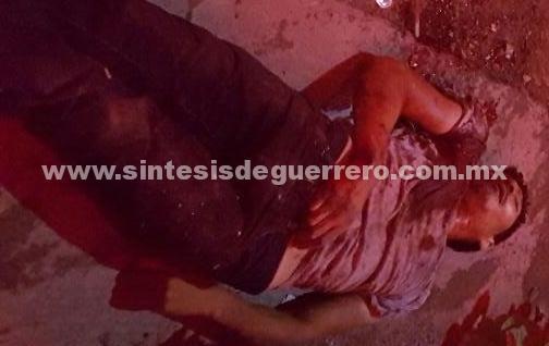 En presunto asalto, matan a joven en Iguala