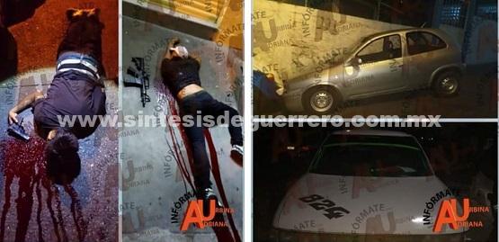 Policías abaten a dos presuntos delincuentes en Las Crucitas