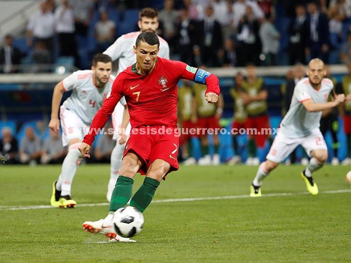 Revive el intenso empate entre Portugal y España