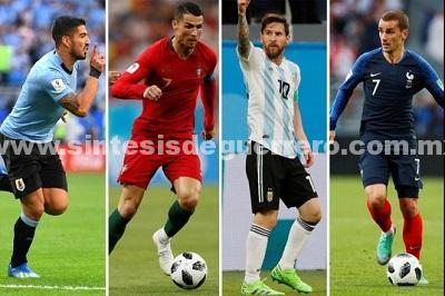 Canales y horarios del Francia vs. Argentina y Uruguay vs. Portugal