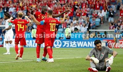 Triste debut de Panamá, cortesía de Bélgica