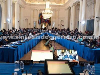 OEA aprueba resolución que llama a aplicar la suspensión de Venezuela