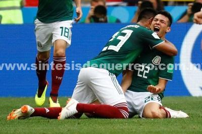 México sorprende al mundo; vence a Alemania