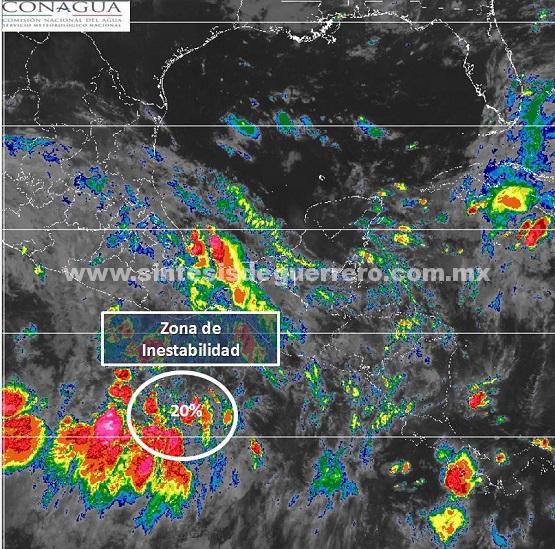 Nueva zona de inestabilidad ciclónica se desarrolla en el Pacífico; prevén más lluvias