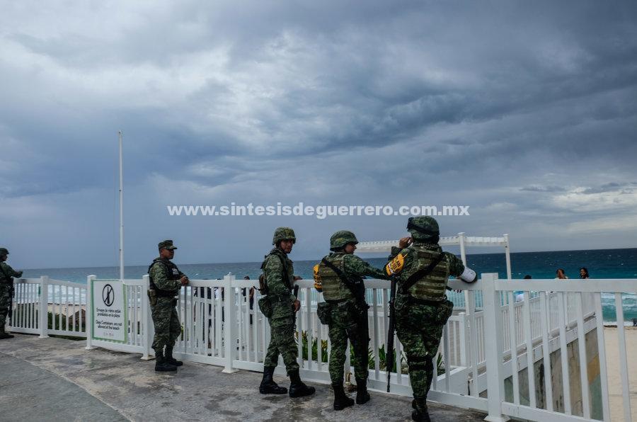 Se pronostican tormentas muy fuertes en la mayor parte de Guerrero