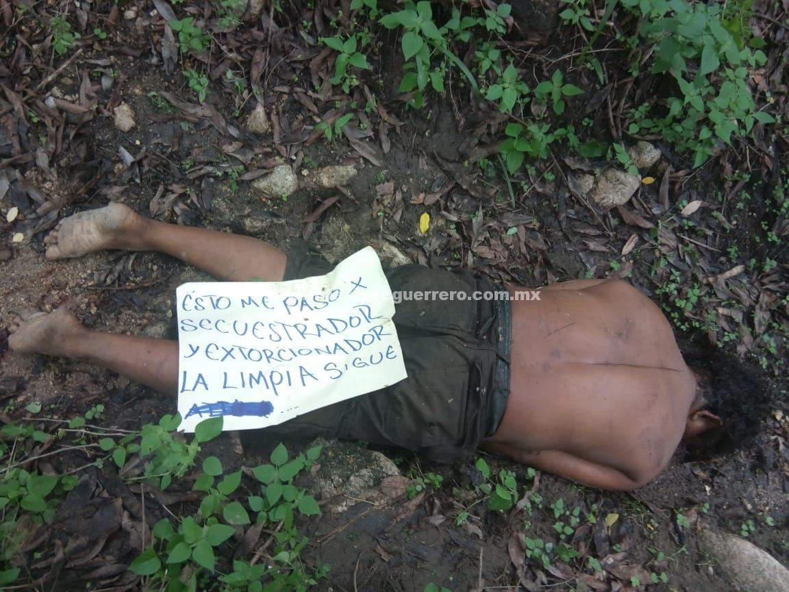 De un balazo en la cabeza, asesinan a un hombre en Coyuca de Benítez