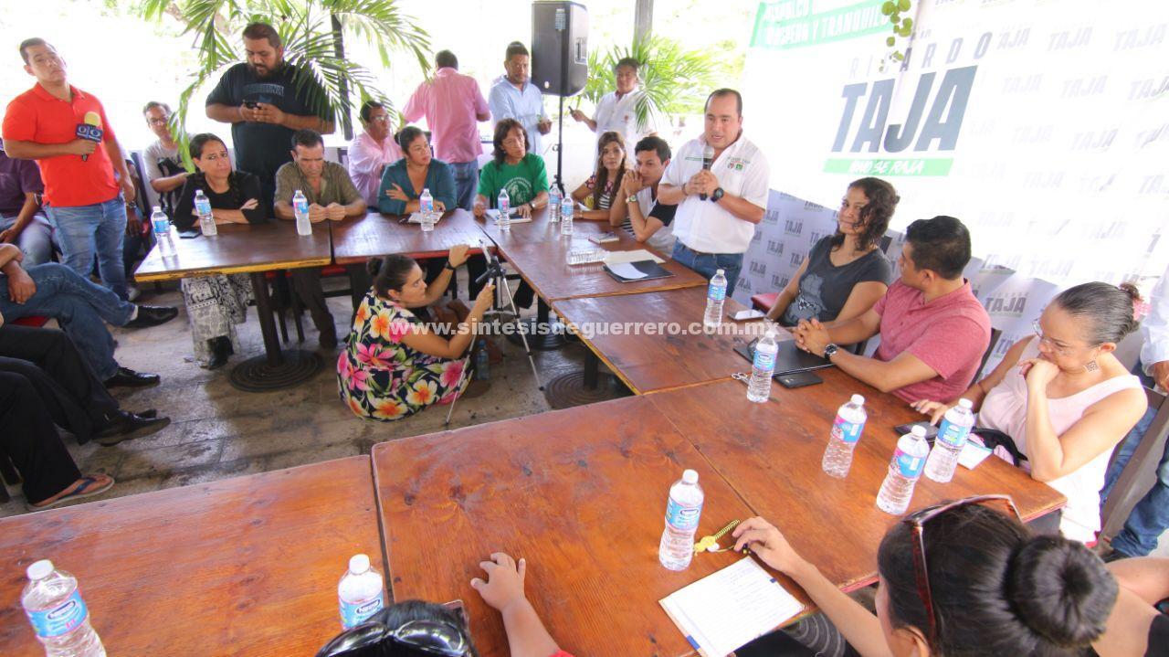 Cultura y las artes trascendentales para Acapulco: Taja