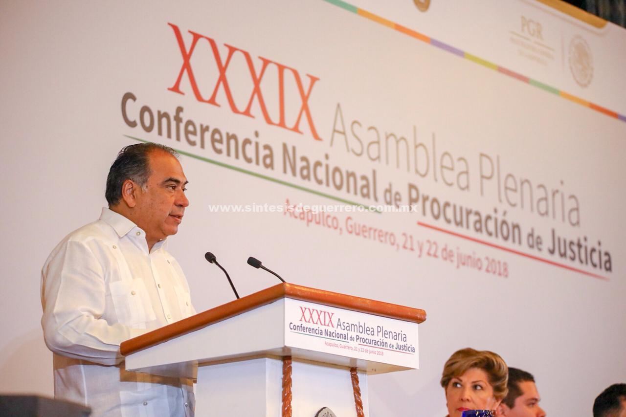 Se reúnen en Acapulco fiscales y procuradores de todo el país; se realiza la Conferencia Nacional de Procuración de Justicia