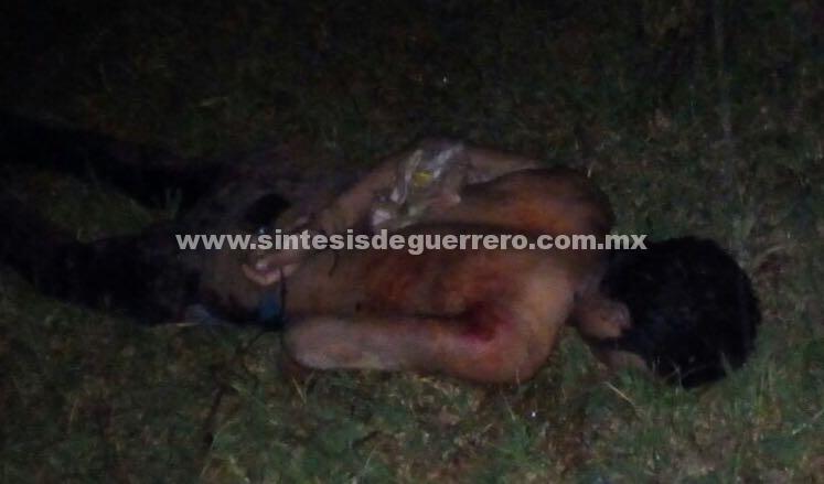 Ejecutan a dos jóvenes en Chilapa de Álvarez; estaban maniatados