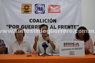 No hay dictamen negativo de PC al Hospital General exhibe Mejía Berdeja
