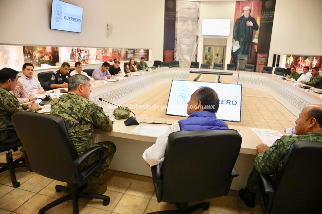 Se instala en Sesión permanente el Grupo de Coordinación Guerrero y autoridades electorales previo a votaciones