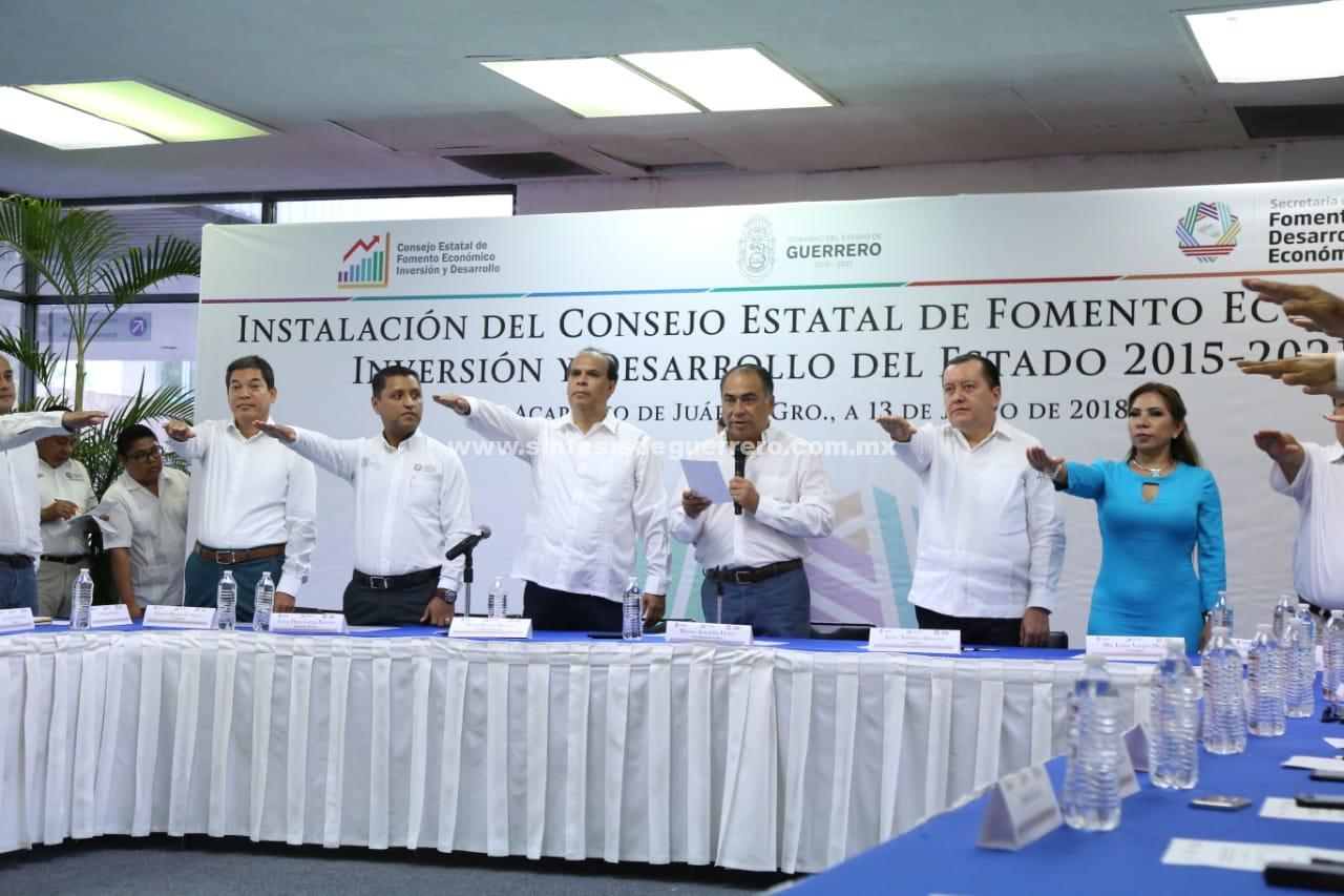 Guerrero en un buen momento de desarrollo industrial y económico: Héctor Astudillo