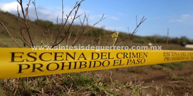 Ejecutan a un hombre en Huitzuco; su cadáver aparece en paraje donde 4BNB realizó exploraciones