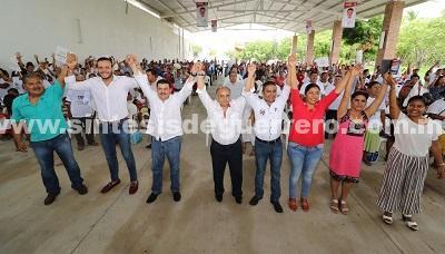 Apoyo total a comunidades indígenas guerrerenses, compromete Añorve en la Costa Chica.