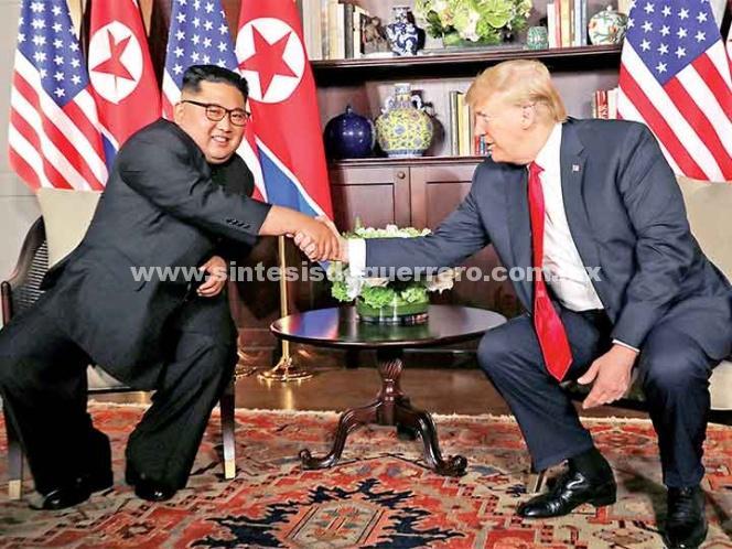 Trump y Kim tienen encuentro optimista