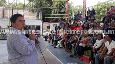 Piden maestros del SUSPEG homologación de salario en base a la federación