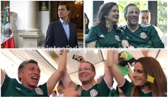México le ganó a Alemania y así reaccionaron Peña y los presidenciables