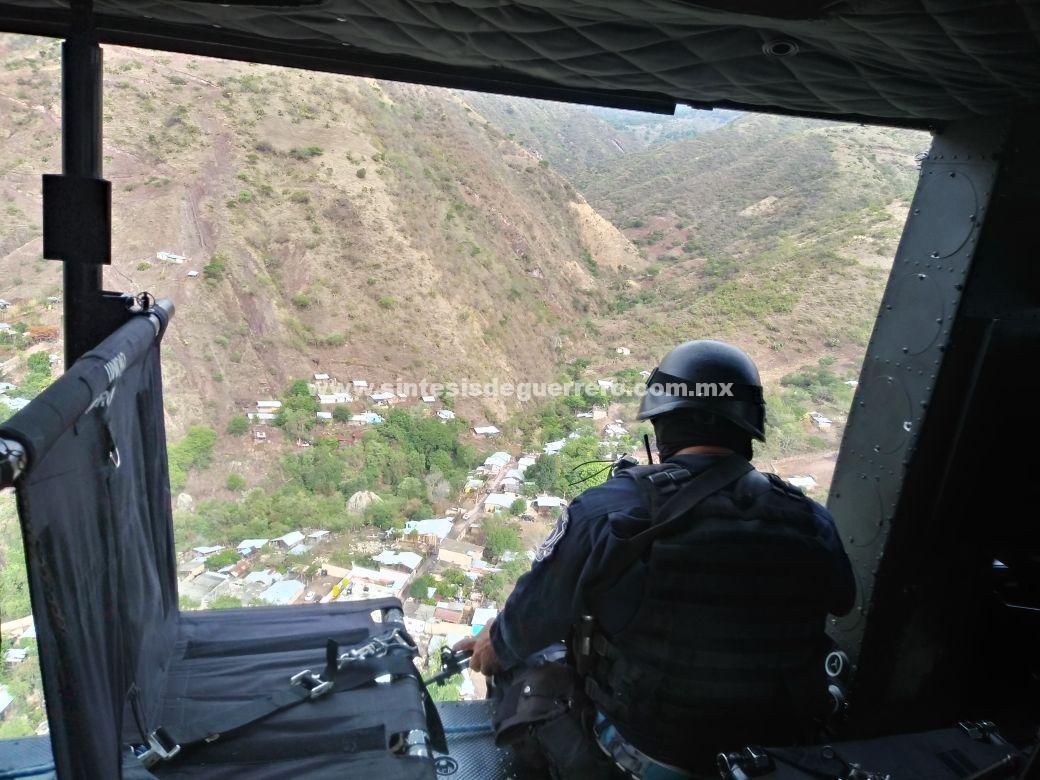 Policía del Estado desmintió que hayan ocurrido enfrentamientos en la sierra de Heliodoro Castillo