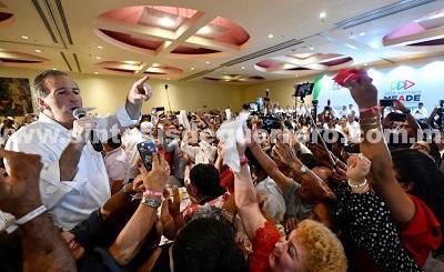 (Video) José Antonio Meade se reunió con estructuras del PRI en Veracruz