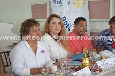 BOLETÍN: Propone Adela Román eficientar la Policía Municipal en Acapulco