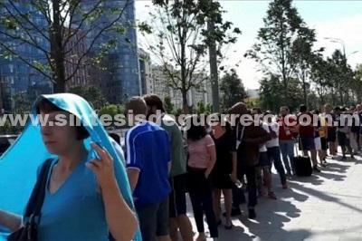 Mexicanos en Rusia buscan boletos para octavos de final
