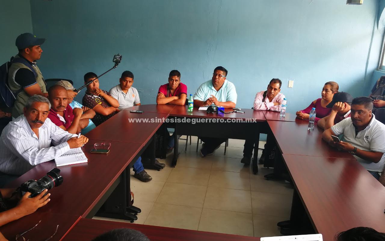 Leonardo Bravo y Eduardo Neri abiertos al diálogo con Heliodoro Castillo, para la estabilidad de la Sierra