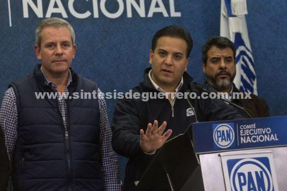 Acusa PAN intenciones golpistas de militantes de Morena