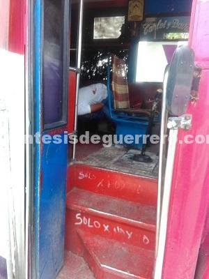 Asesinan a urbanero en Acapulco