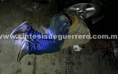 Ejecutan a un joven en la colonia Las Américas de Chilpancingo