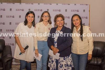 El 50% de mi gabinete lo ocuparán mujeres: Adela Román Ocampo