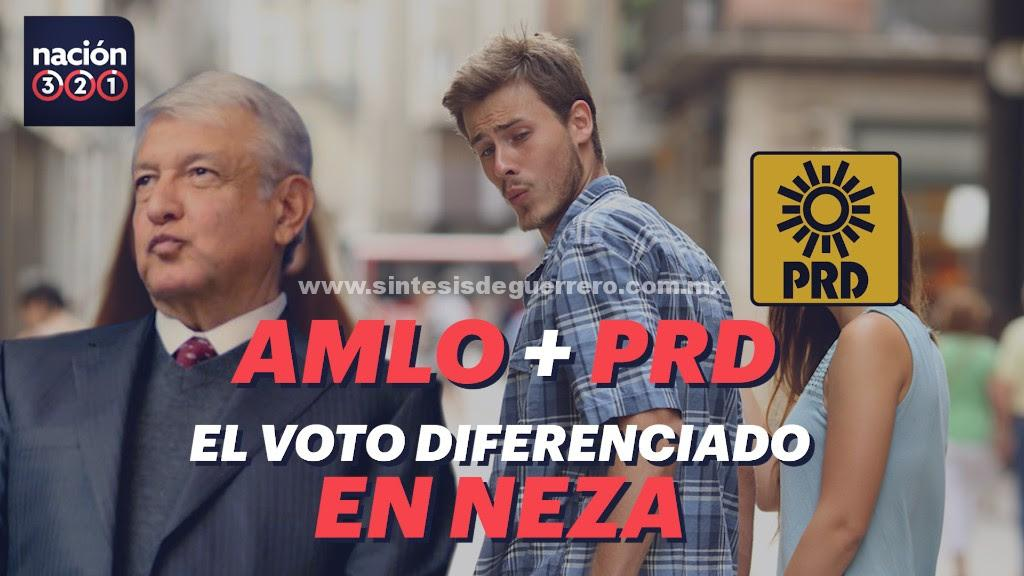 VIDEO: AMLO + PRD, el voto diferenciado en Neza