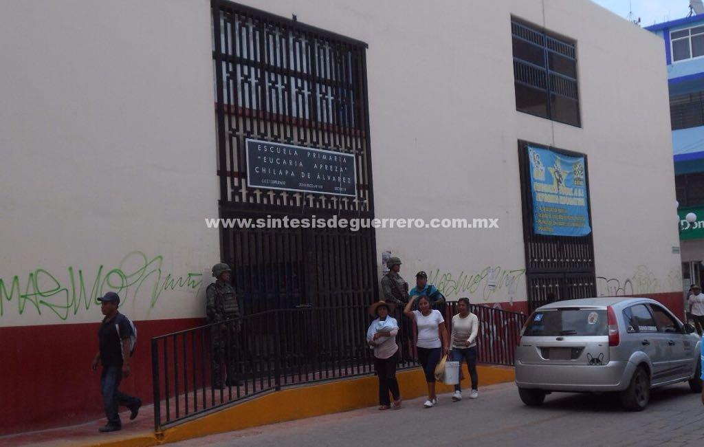 Fue un ciclo escolar complejo por la violencia, en Chilapa