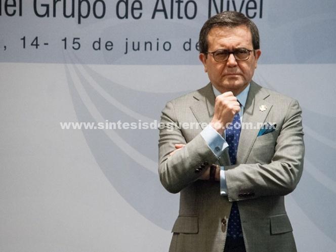 El 26 de julio se retoman negociaciones del TLCAN: Guajardo