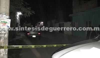 Ejecutan a jóven en la colonia Ruffo Figueroa de Iguala