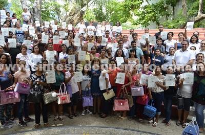 Clausura Mercedes Calvo Cursos de ICATEGRO en Acapulco