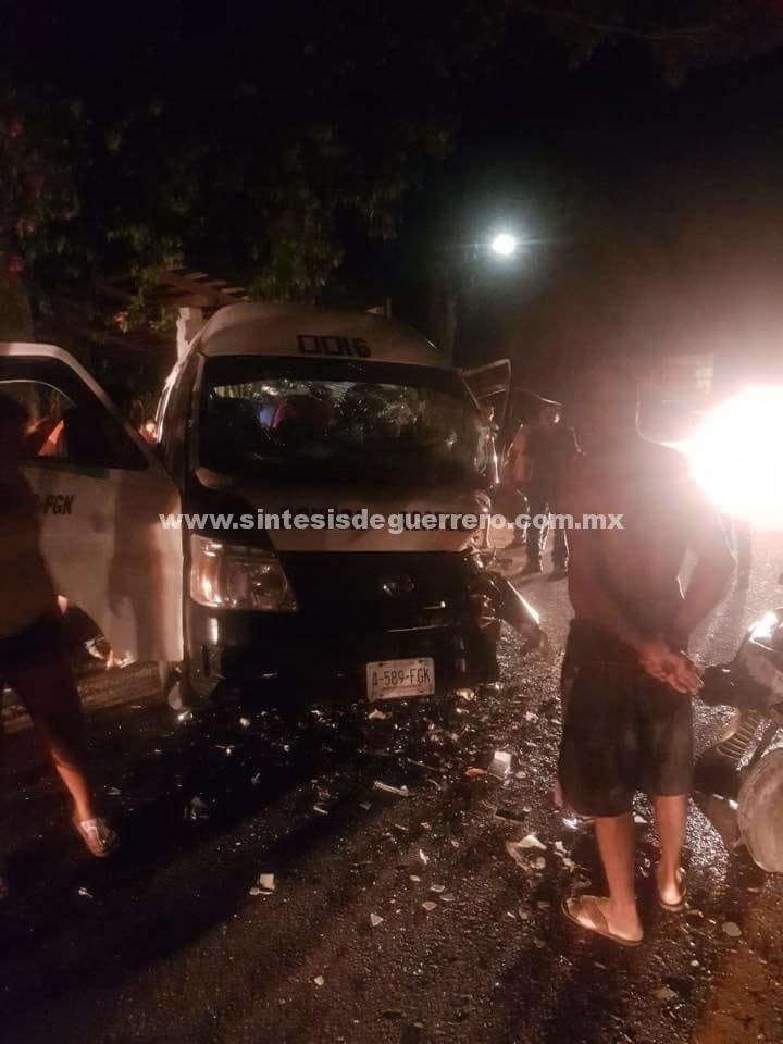 (Video) Tres aparatosos Accidentes dejan un  Muerto y varios heridos  En Acapulco