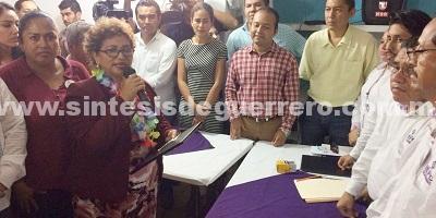 Entregan la constancia de mayoría a Adela Román; ganó con 148 mil votos