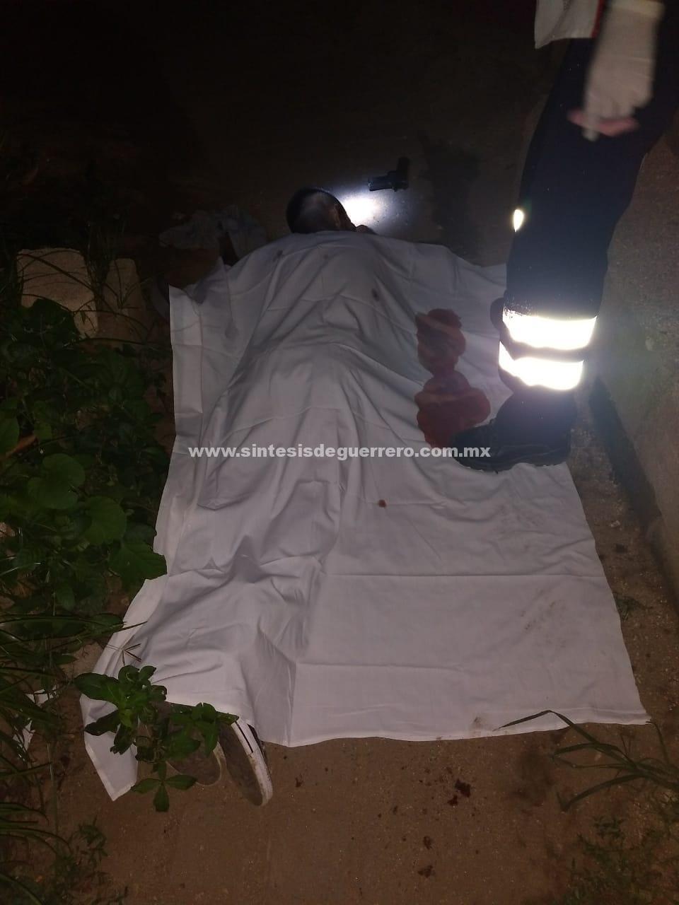 Asesinan a un hombre cerca de La Venta, en Acapulco