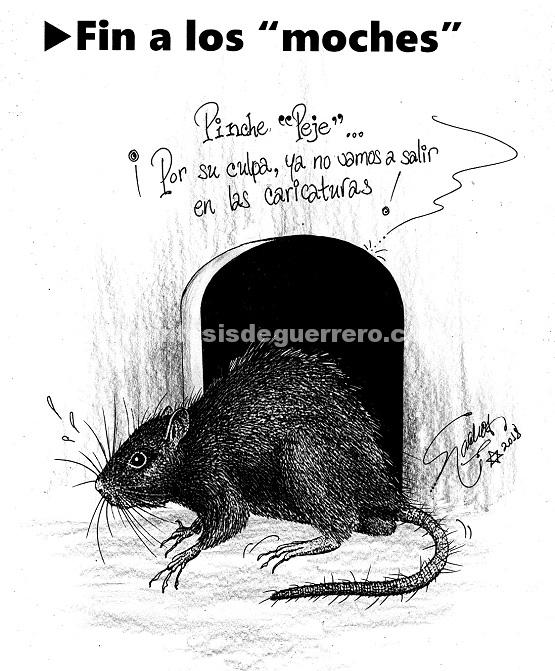 """El Cartón de Nacho´s: FIN A LOS """"MOCHES"""""""