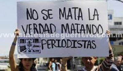 Informe al primer semestre de 2017 sobre los asesinatos y desapariciones forzadas de periodistas en México