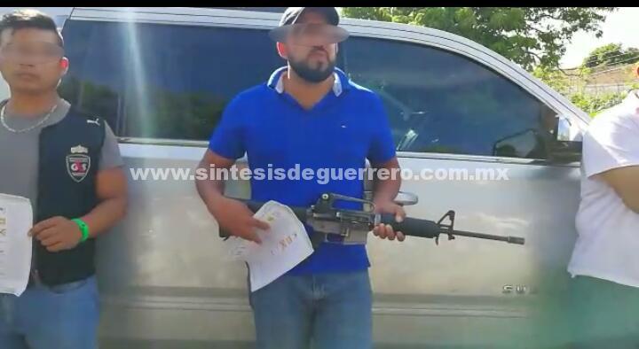 Detienen a gente fuertemente armada quienes compraban votos a favor de Pablo Segura candidato de Movimiento Ciudadano