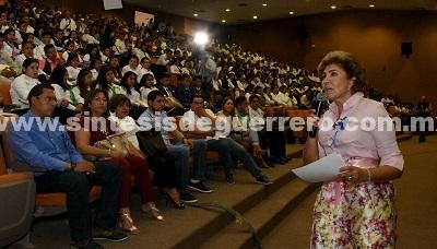 El gobierno de Héctor Astudillo amplió la red de telebachilleratos comunitarios: Mercedes Calvo